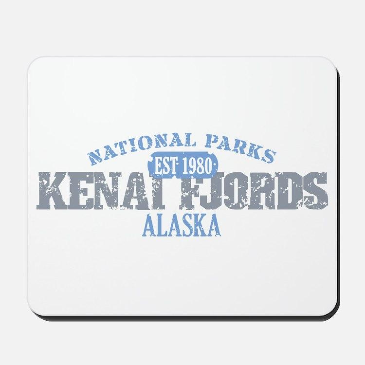 Kenai Fjords National Park AK Mousepad