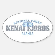 Kenai Fjords National Park AK Decal