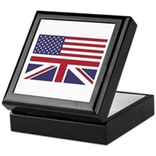 Brit in the USA Keepsake Box