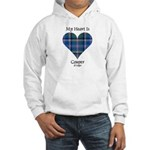 Heart - Couper of Gogar Hooded Sweatshirt