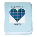 Heart - Couper of Gogar baby blanket