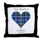 Heart - Couper of Gogar Throw Pillow