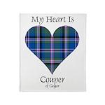 Heart - Couper of Gogar Throw Blanket