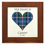 Heart - Couper of Gogar Framed Tile