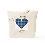 Heart - Couper of Gogar Tote Bag