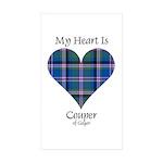 Heart - Couper of Gogar Sticker (Rectangle 50 pk)