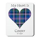 Heart - Couper of Gogar Mousepad