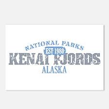 Kenai Fjords National Park AK Postcards (Package o