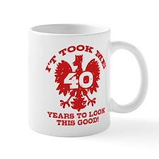 40th Birthday Polish Mug