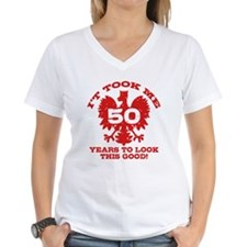 50th Birthday Polish Shirt