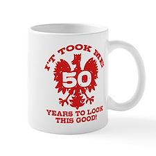 50th Birthday Polish Mug
