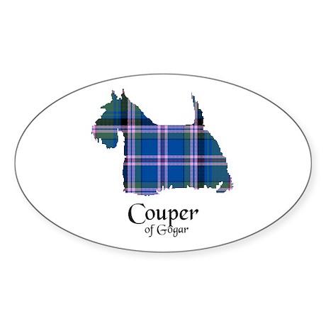 Terrier - Couper of Gogar Sticker (Oval)