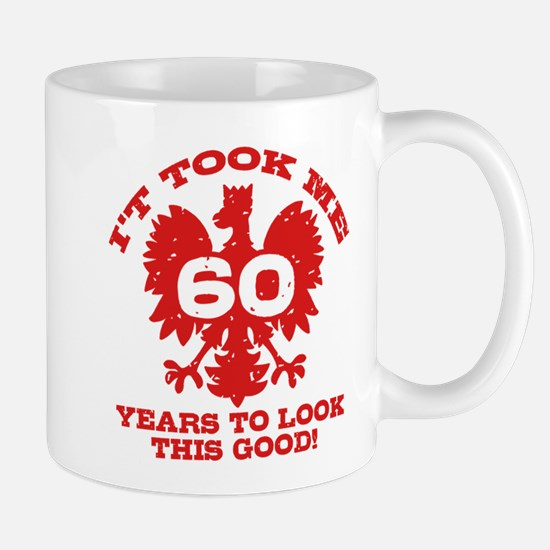 60th Birthday Polish Mug