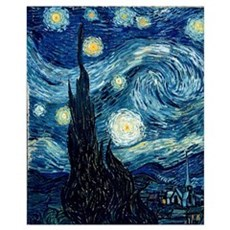 The Starry Night, June 1889 Poster