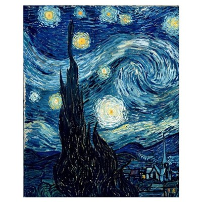 The Starry Night, June 1889 Canvas Art