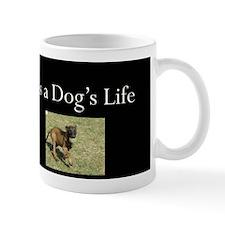 Dogs Life Black Mug