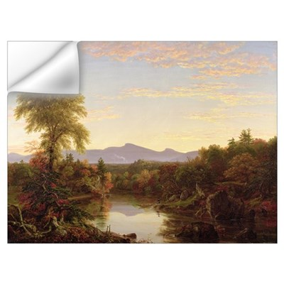 Catskill Creek, New York, 1845 (oil on canvas) Wall Decal