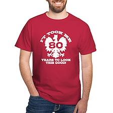 80th Birthday Polish T-Shirt