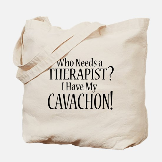THERAPIST Cavachon Tote Bag