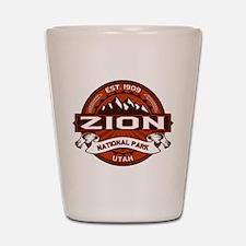 Zion Crimson Shot Glass