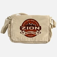 Zion Crimson Messenger Bag
