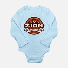 Zion Crimson Long Sleeve Infant Bodysuit