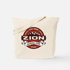 Zion Crimson Tote Bag