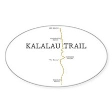 Kalalau Trail Decal