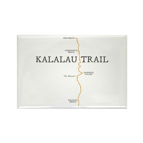 Kalalau Trail Rectangle Magnet