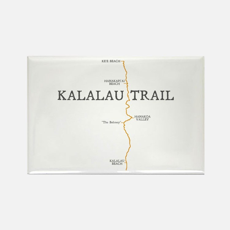 Kalalau Trail Rectangle Magnet