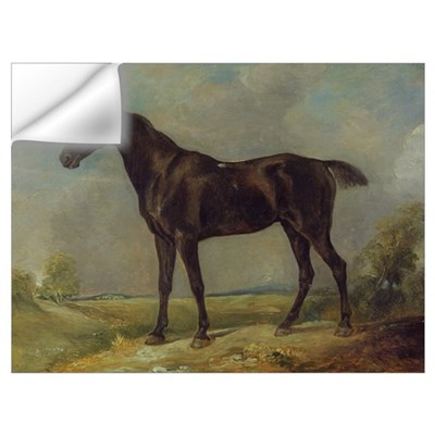 Golding Constable's Black Riding-Horse, c.1805-10 Wall Decal