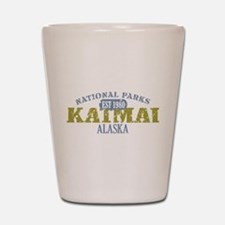 Katmai National Park Alaska Shot Glass
