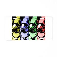 Boston Graphic Colorbar Aluminum License Plate
