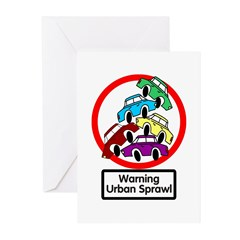 The Urban Sprawl Greeting Cards (Pk of 10)