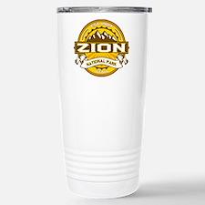 Zion Goldenrod Stainless Steel Travel Mug