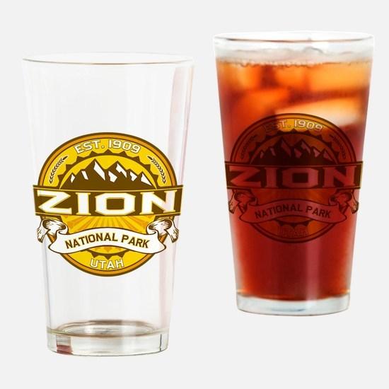 Zion Goldenrod Drinking Glass