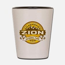 Zion Goldenrod Shot Glass