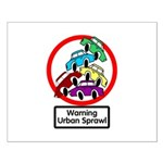 The Urban Sprawl Small Poster