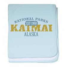 Katmai National Park Alaska baby blanket