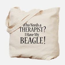 THERAPIST Beagle Tote Bag