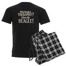 THERAPIST Beagle pajamas
