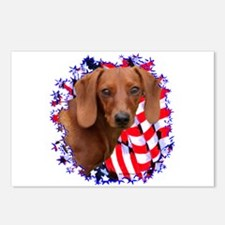 Doxie 3 Postcards (Package of 8)