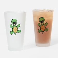 Skuzzo Happy Turtle Drinking Glass