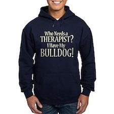 THERAPIST Bulldog Hoodie