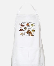 Octopus of the World Apron