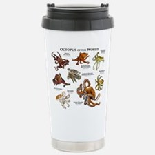 Octopus of the World Stainless Steel Travel Mug