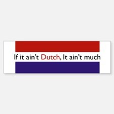 Funny Holland Sticker (Bumper)