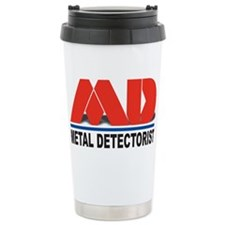 MD - Metal Detectorist Travel Coffee Mug