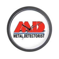 MD - Metal Detectorist Wall Clock