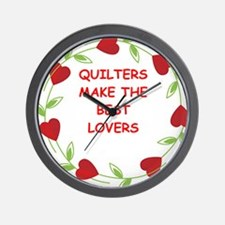 quilting Wall Clock